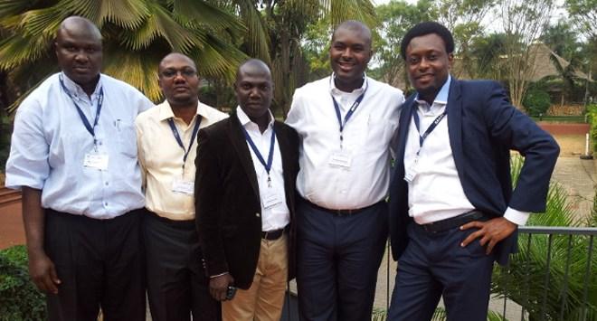 Some Nigerian delegates-L-R-Layi Afolabi-Media Planning Services, Bisi Idowu-Etisalat, Dan Oshodin-TMKG, Dapo Adefolaju-Etisalat, Chimezie Uguru-Etisalat