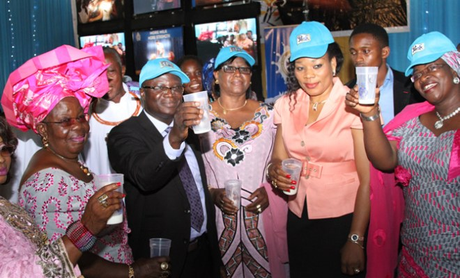 Second from left: Mr. Joshua Abuh Snr Brand Manager Peak, Her Excellency Deaconess Endurance Odubu, wife of the Deputy Governor of Edo State and second from the right Hajia Memuna, Executive Director, Women Affairs at the Edo State flag off of the Drink Milk Everyday Campaign