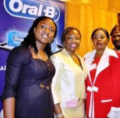 P&G's Busola Opanubi; Global Government Relations Leader for Sub- Saharan Africa P&, Tope Iluyemi and P. S., Federal Ministry of Health, Mrs. Fatima Bamidele