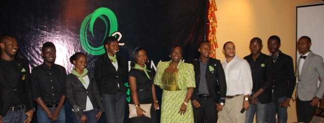 Bunmi Oke, AAAN President, Sam Onyemelukwe, Head Anglophone Africa, Trace TV and graduating students.