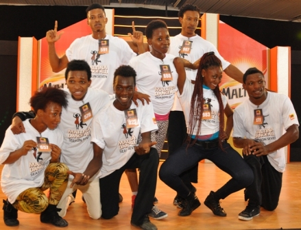 Eight of the young talents discovered at the Lagos auditions