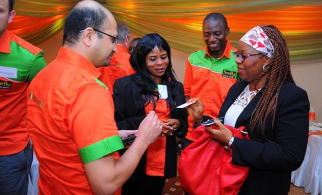 Soumya Saklani (MD Sub Saharan Africa Millward Brown) Ugo Geri-Robert (MD Millward Brown Nigeria) Michael Umogun (Account Manager Milward Brown Nigeria) and Joan Ihekwaba General Manager Marketing UACN