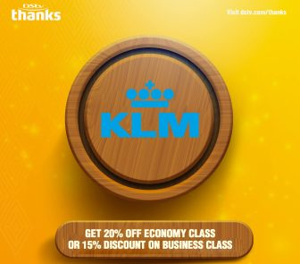 DStv-Thanks_KLM-yellow