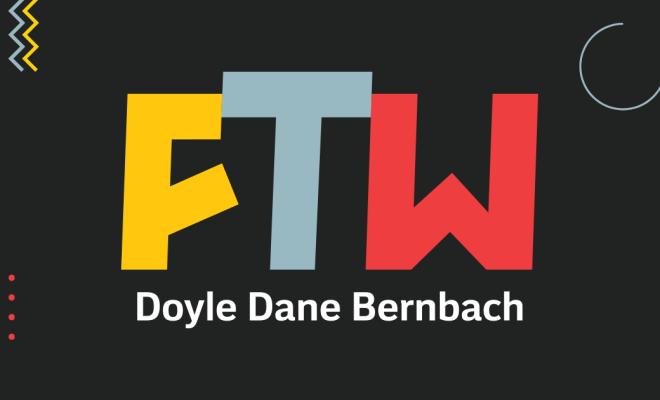 DDB FTW