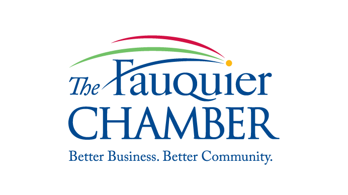 The Fauquier Chamber in Fauquier County VA logo design