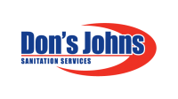 Don's Johns Sanitation Services in Virginia logo design