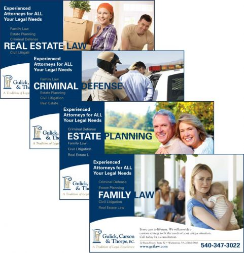 Gulick, Carson & Thorpe, P.C. Attorneys in Warrenton VA Ad Series