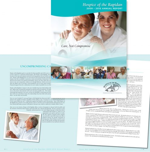 Hospice of the Rapidan Annual Report 2009-2010