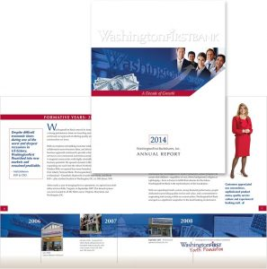 WashingtonFirst Bank Annual Report 2014
