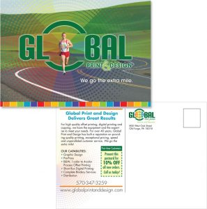 Global Print & Design in PA postcard