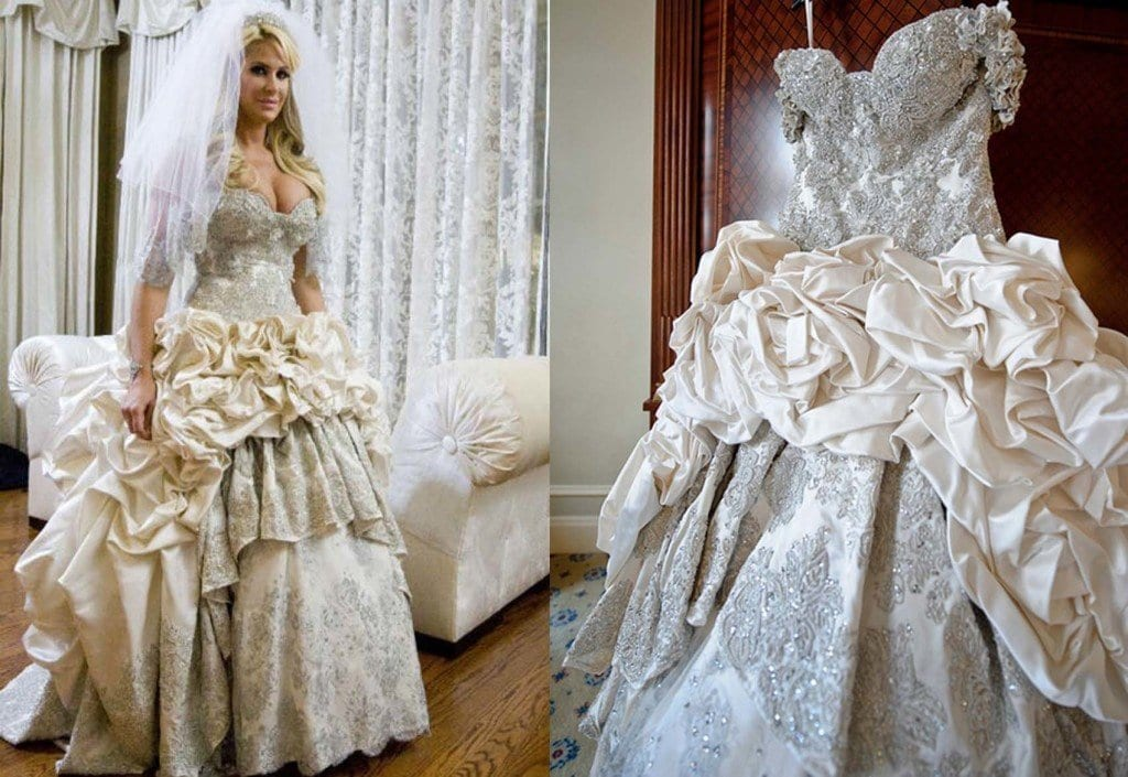 10 Celebrities Who Wore World Most Expensive Wedding Dresses