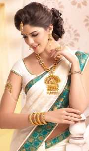 hairstyles saree -20 cute
