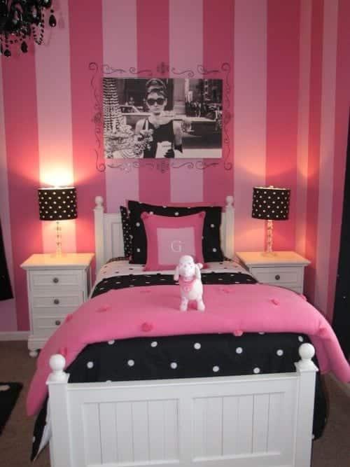 Home Architec Ideas Bedroom Pink Room Ideas For Teenage Girls
