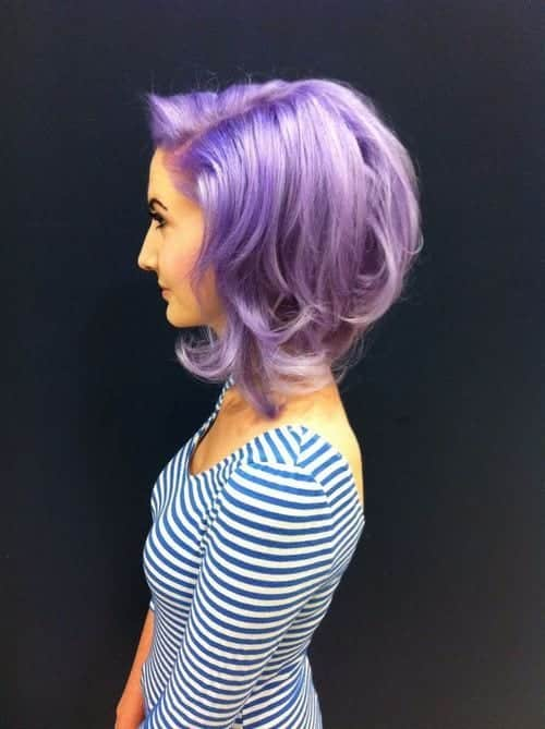 Purple Hairstyles These 50 Cute Purple Shade Hairstyles You Cant
