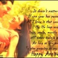 20 sweet wedding anniversary