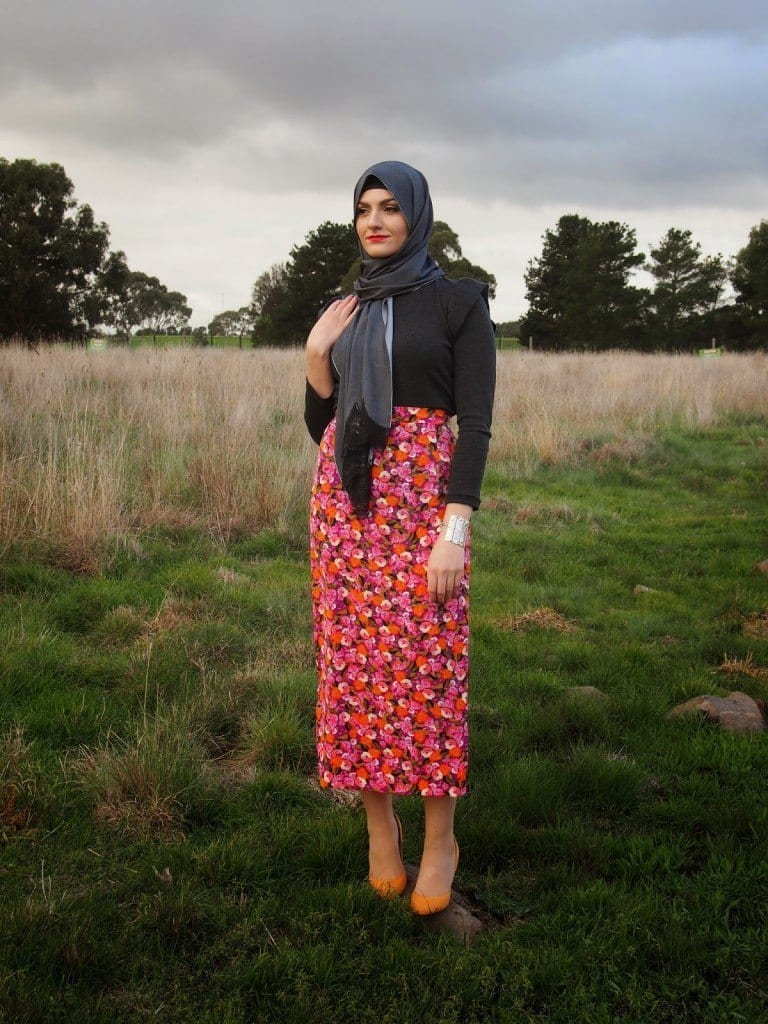 Hijab Skirt Outfits 24 Modest Ways To Wear Hijab With Skirts