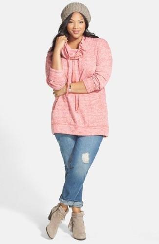 18 Plus size Women Boyfriend Jeans Outfits Combinations