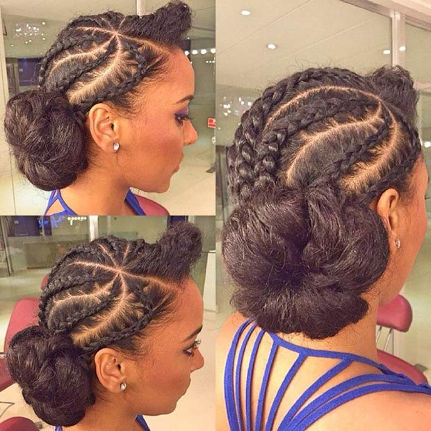 Cornrow Hair Styles For Girls 20 Best Ways To Style Cornrows