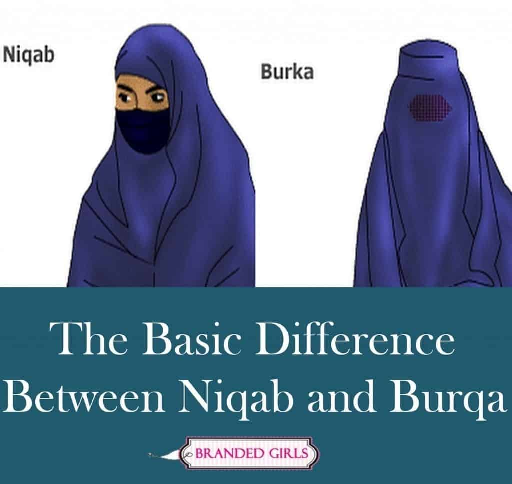 Now im going to sew the band edges together. Burka vs Niqab The Basic Difference Between Niqab and ...
