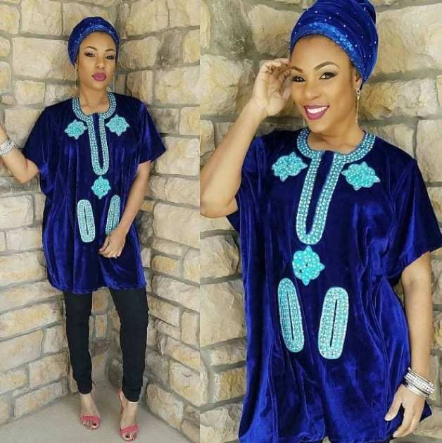 Embroidered-Agbada-Outfits Agbada Outfits for Women - 20 Ways to Wear Agbada in Style
