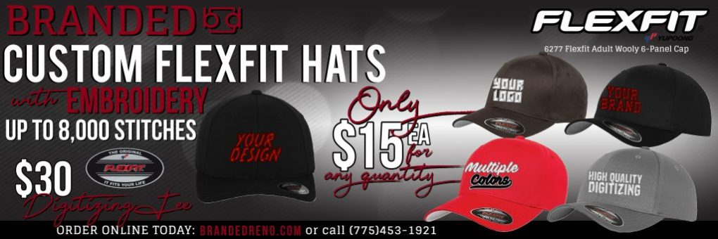8617425a Flexfit Hats ON SALE $15.00 each with embroidery | BRANDED