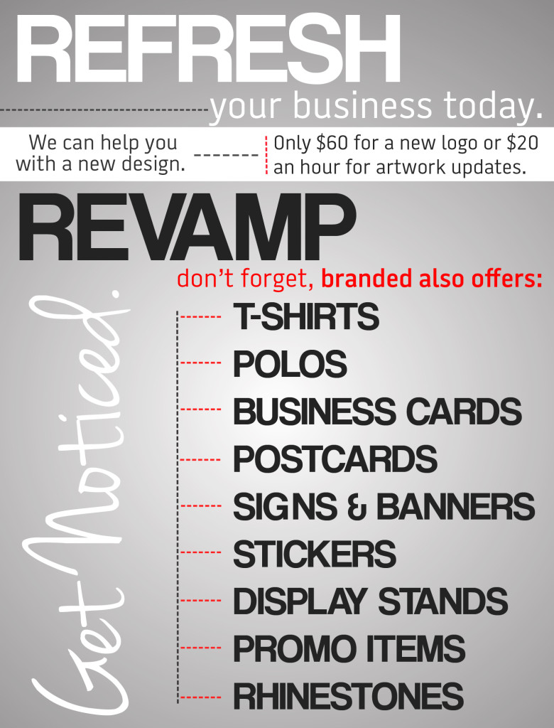 Branded Screen Printing Email Ad
