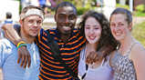 Thumbnail photo of Brandeis students