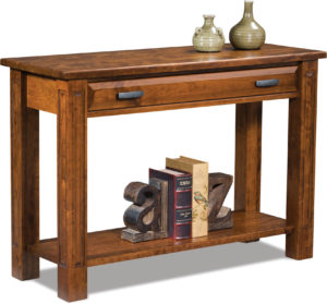 amish built sofa tables upholstery fabric ideas furniture by brandenberry lexington open table