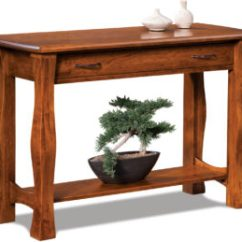 Amish Built Sofa Tables Cheap And Loveseat Cover Sets Furniture By Brandenberry Reno Table