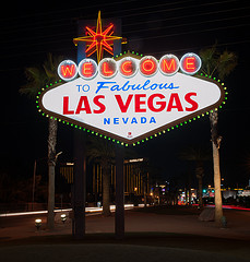Welcome to Las Vegas Sign, by rustler2x4