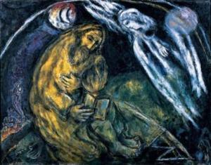 """""""Profeetta Jeremia"""" ( Marc Chagall, 1968)"""