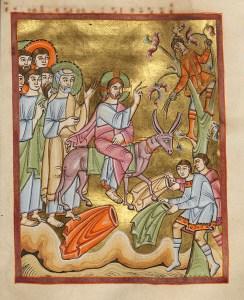 Jeesus saapuu juhlittuna Jerusalemiin