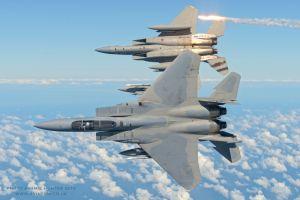 F-15 Eagle - ilmaherruushävittäjä.