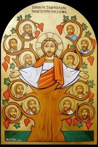 Jeesus lähettää meidät, jotta puu tuottaa hedelmää.