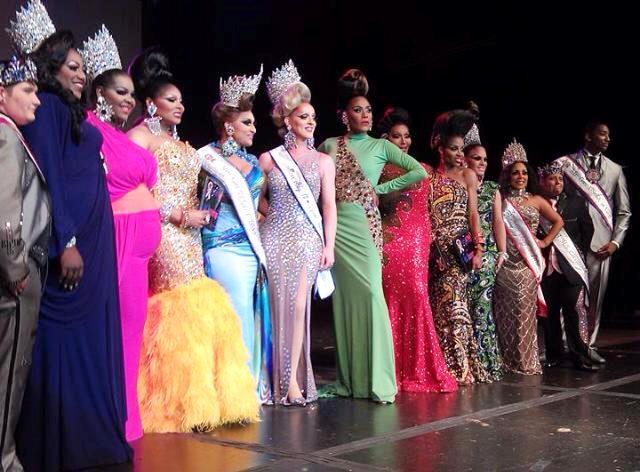 Miss Gay USofA Jenna Skyy and the Royal Court