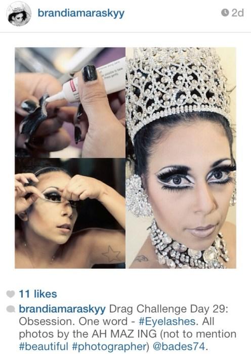Brandi Amara Skyy Faux Queen Drag Queen Instagram Miss Diva USofA