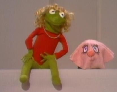 Kermit in Drag cartoon characters in drag