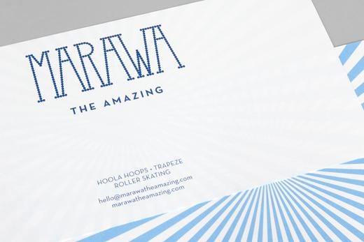 Marawa The Amazing Identity Design 14