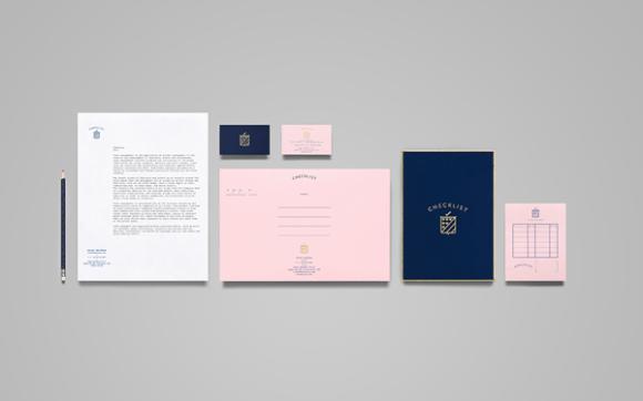 Checklist branding identity design for Custom home design checklist