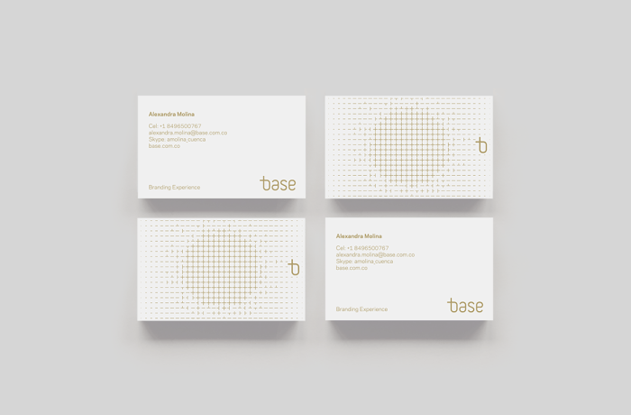 business card design 01 - Minimal Business Card