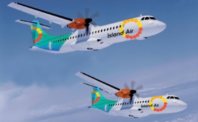 Island Air Rebrands Gets New Airplanes Branding Magazine