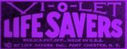 Vi-O-Let Life Savers