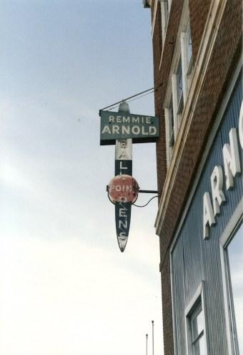 Remmie Arnold Pen Company Sign, Petersburg, Virginia