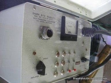 Shark bite checking machine