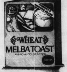 Old London Melba Toast