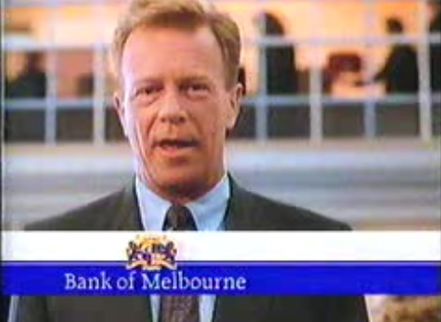 Bank of Melbourne ad