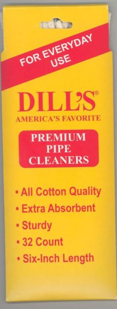 Dill's Pipe Premium pipe cleaners