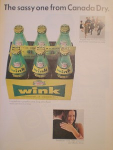 Wink, a grapefruit soda by Canada Dry