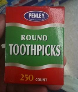 toothpicks American