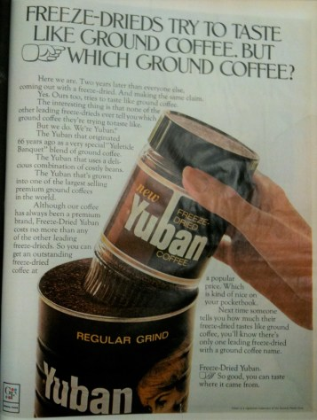 general foods yuban coffee brandlandusa